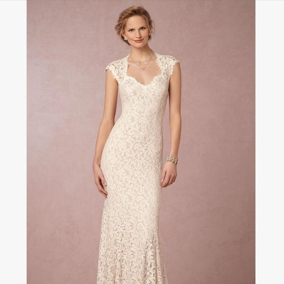 Tadashi Shoji Dresses Wedding Dress White Lace Poshmark